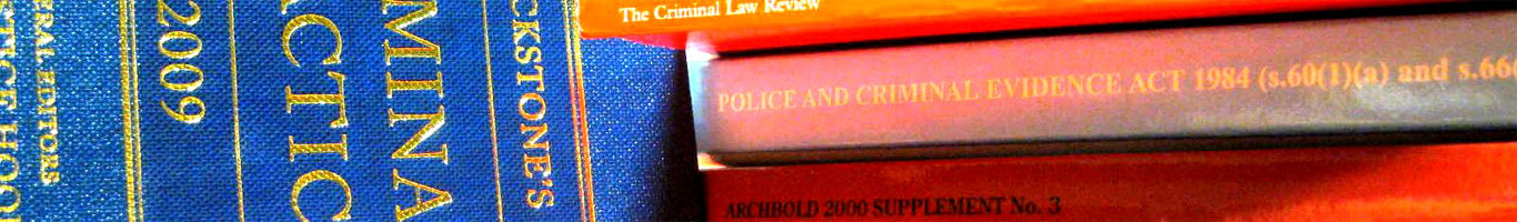Public funding information for criminal law